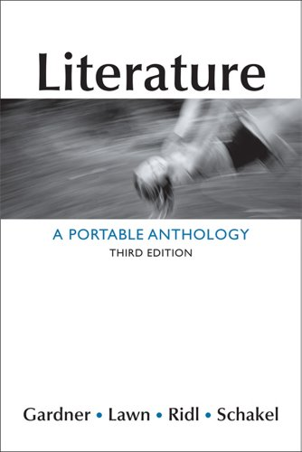 book Literature: A Portable Anthology