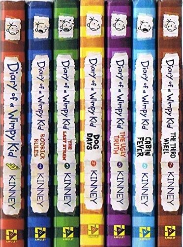 book Diary of a Wimpy Kid, Volumes 1 Thru 7: Diary of a Wimpy Kid \/ Rodrick Rules \/ The Last Straw \/ Dog Days \/ The Ugly Truth \/ Cabin Fever \/ The Third Wheel