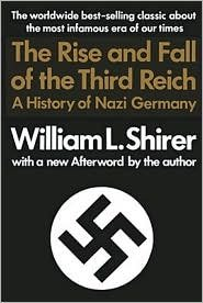 book The Rise and Fall of the Third Reich 1st (first) edition Text Only