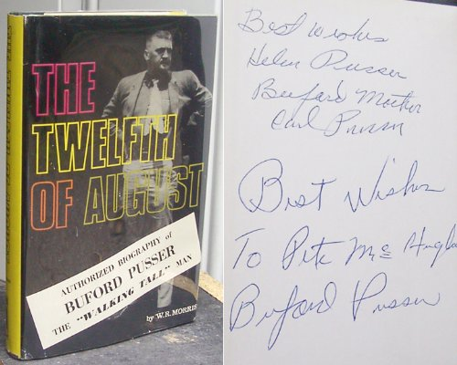 book The Twelfth of August; Authorized Biography of Buford Pusser