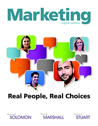 book Marketing: Real People, Real Choices (8th Edition)