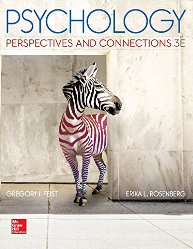 book Psychology: Perspectives and Connections, 3rd Edition