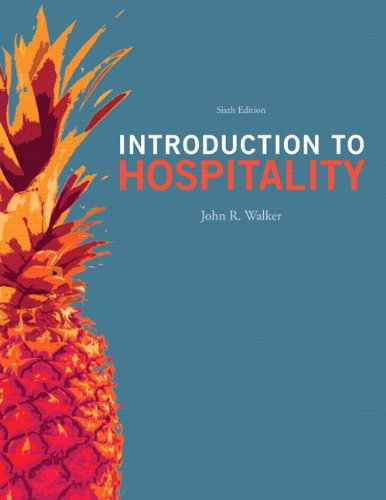 book Introduction to Hospitality (6th Edition)