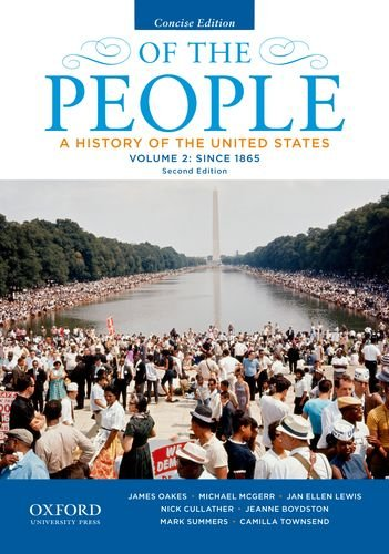 book Of the People: A History of the United States, Concise, Volume II: Since 1865