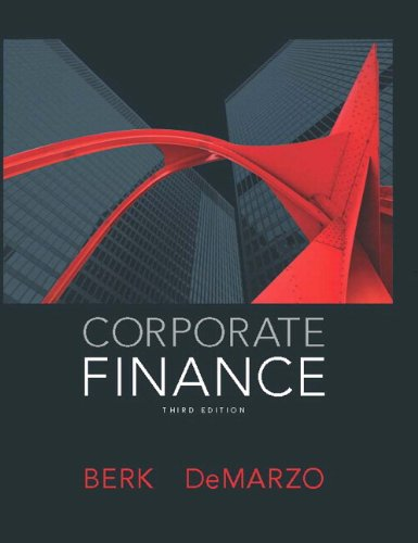 book Corporate Finance (3rd Edition) (Pearson Series in Finance)