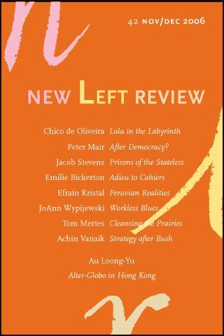 book New Left Review No. 42 November - December 2006