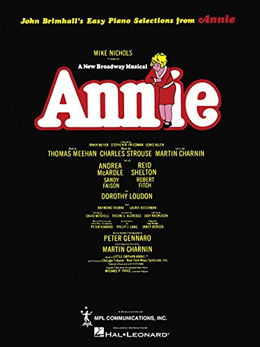 book Annie (Broadway) (Easy Piano)