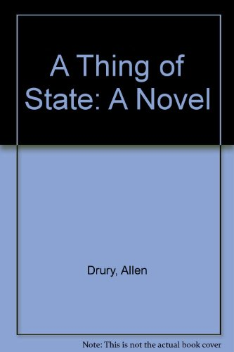 book THING OF STATE: A Novel