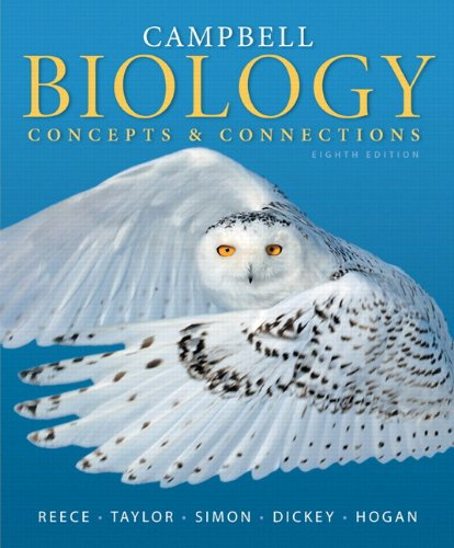 book Campbell Biology: Concepts & Connections (8th Edition)
