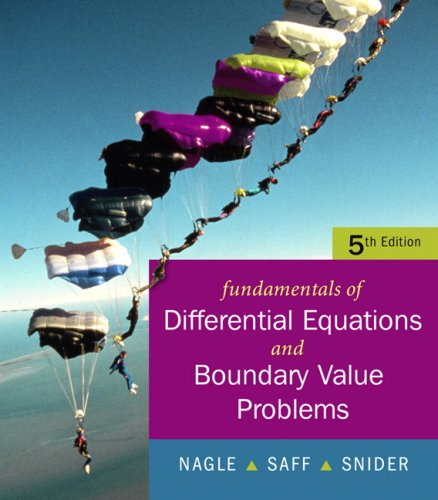 book Fundamentals of Differential Equations with Boundary Value Problems with IDE CD  Value Package (includes Student Solutions Manual)