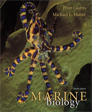 book Marine Biology 4th edition by Peter Castro, Michael E. Huber (2002) Hardcover