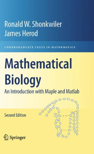 book Mathematical Biology: An Introduction with Maple and Matlab (Undergraduate Texts in Mathematics)