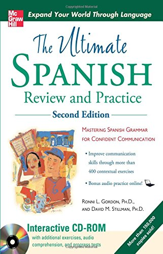 book Ultimate Spanish Review and Practice with CD-ROM, Second Edition (UItimate Review & Reference Series)