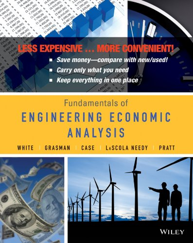 book Engineering Economics An Integrated Approach 1e Binder Ready Version + WileyPLUS Registration Card