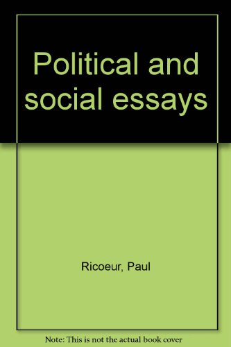 book Political and Social Essays