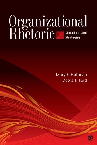 book Organizational Rhetoric: Situations and Strategies
