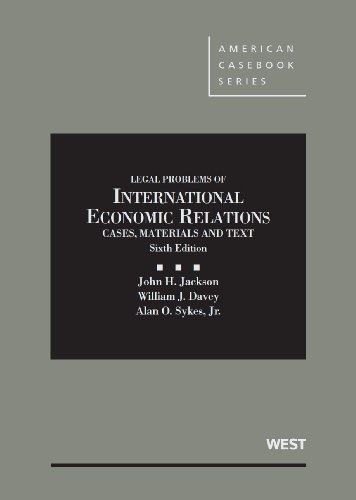 book Materials and Texts on Legal Problems of International Economic Relations (American Casebook Series)