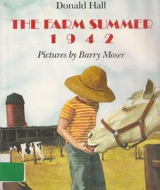 book The Farm Summer 1942 by Donald Hall (1994) Hardcover