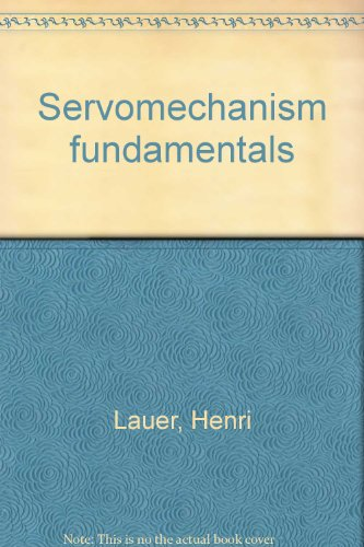 book Servomechanism fundamentals