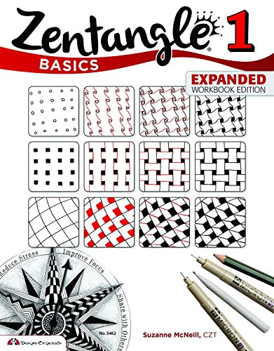 book Zentangle Basics, Expanded Workbook Edition: A Creative Art Form Where All You Need is Paper, Pencil & Pen