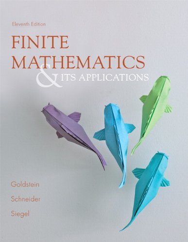 book Finite Mathematics & Its Applications (11th Edition)