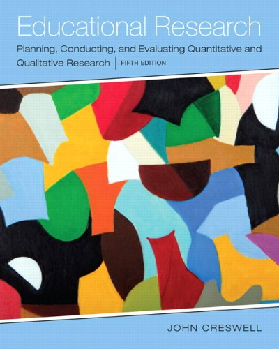 book Educational Research: Planning, Conducting, and Evaluating Quantitative and Qualitative Research, Enhanced Pearson eText with Loose-Leaf Version -- Access Card Package (5th Edition)