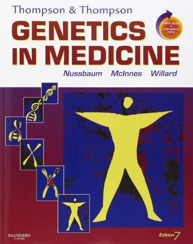 book Thompson & Thompson Genetics in Medicine: With STUDENT CONSULT Online Access, 7e (Thompson and Thompson Genetics in Medicine)