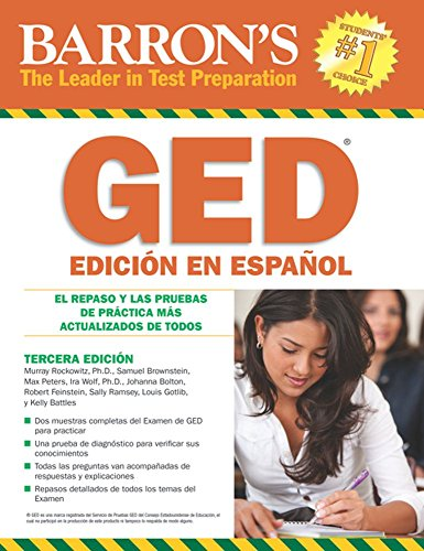 book Examen de Equivalencia de la Escuela Superior, en Espanol: Barron\'s GED, Spanish Edition (Examen De Equivalencia De La Escuela Superior\/Review of High School Equivalency)