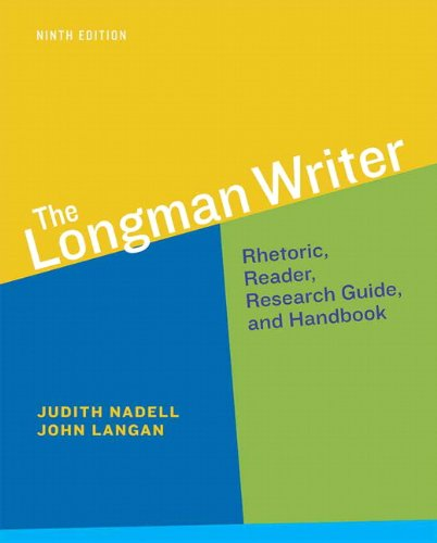 book The Longman Writer (9th Edition)