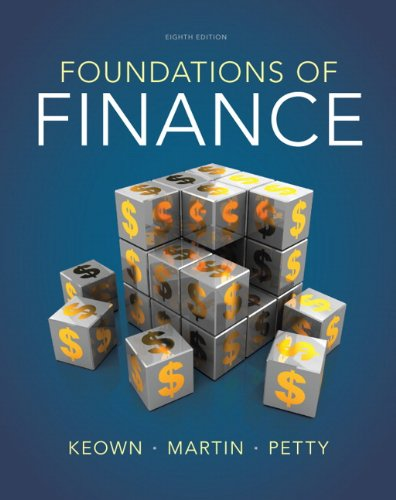book Foundations of Finance (8th Edition) (Pearson Series in Finance)