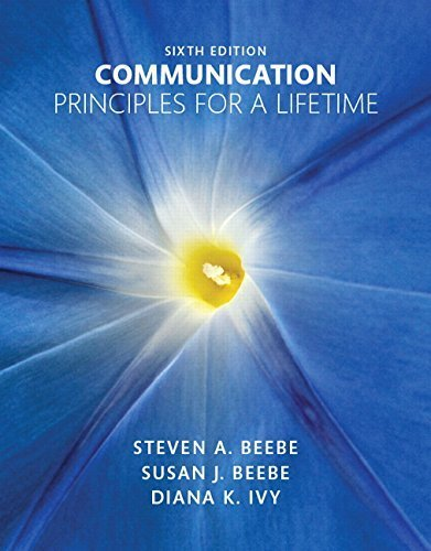 book Communication: Principles for a Lifetime Plus NEW MyCommunicationLab for Communication -- Access Card Package (6th Edition) 6th edition by Beebe, Steven A., Beebe, Susan J., Ivy, Diana K. (2015) Paperback