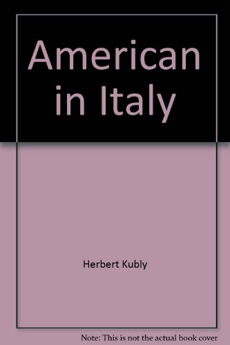 book American in Italy