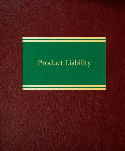 book Product Liability (Litigation Series)