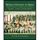 book World History in Brief- Major Patterns of Change & Continuity,Volume 1 by Stearns,Peter N.. [2009,7th Edition.] Paperback