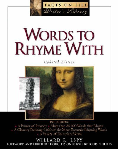 book Words to Rhyme with (Facts on File Library of Language and Literature) by Espy, Willard R. (2001) Hardcover