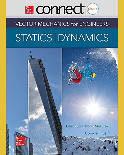 book Connect 2 Semester Access Card for Vector Mechanics for Engineers: Statics and Dynamics