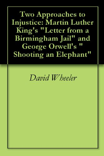 a comparison of martin luther kings i have a dream and george orwells shooting an elephant in essays Synopsis 75 readingsoffers an outstanding collection of the most popular essays for first-year writing, at an affordable price the readings represent a wide variety of authors, disciplines, issues, and interests, and, at an affordable price,75 readingsprovides an excellent value for students.