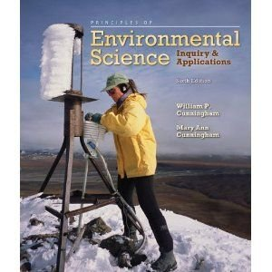 book Principles of Environmental Science (Inquiry & Applications, A Custom Edition for Illinois State University)