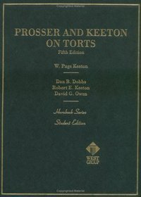 book Prosser and Keeton on the Law of Torts (Hornbooks)