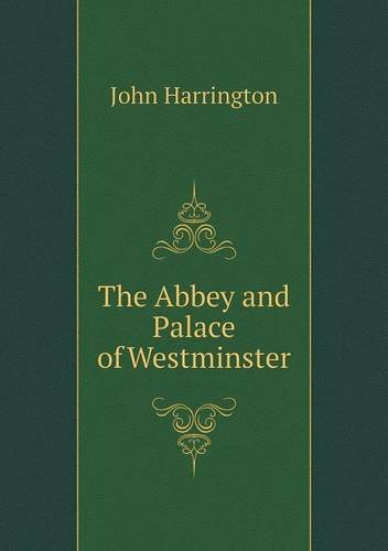book The Abbey and Palace of Westminster