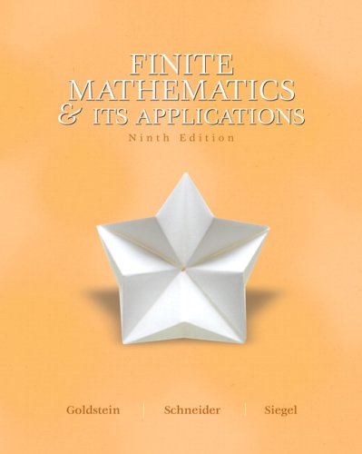 book Finite Mathematics and Its Application Value Pack (includes Student Solutions Manual and CDLS wrap\/SSP package & MyMathLab\/MyStatLab Student Access Kit )