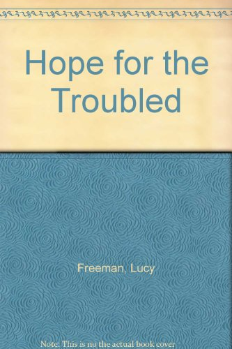book Hope for the Troubled