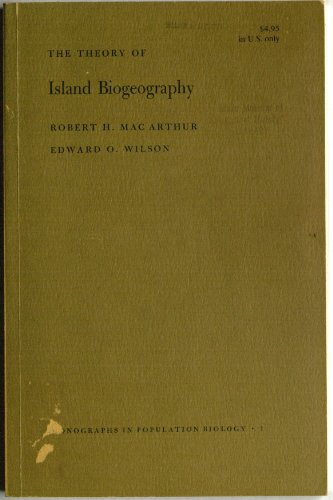 book The Theory of Island Biogeography