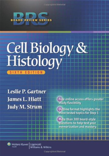 book BRS Cell Biology and Histology (Board Review Series)