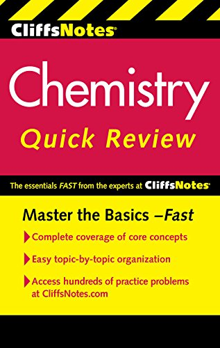 book CliffsNotes Chemistry Quick Review, 2nd Edition (Cliffsquickreview)