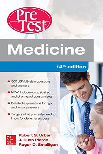 book Medicine PreTest Self-Assessment and Review, Fourteenth Edition