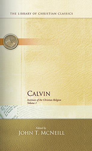 book Calvin: Institutes of the Christian Religion (2 Volume Set)