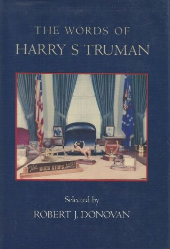 book The Words of Harry S. Truman