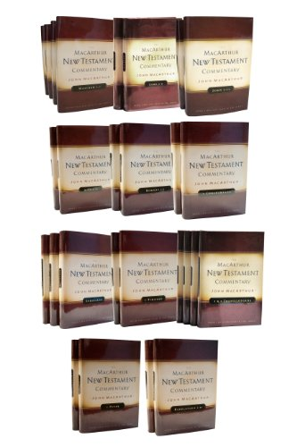 book The MacArthur New Testament Commentary (31 Volume Set)