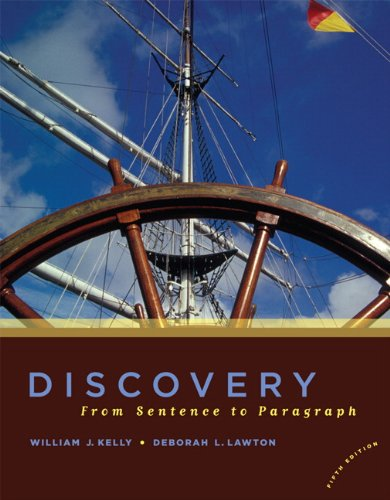book Discovery: From Sentence to Paragraph (5th Edition)